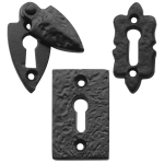 Black Antique Key Hole Escutcheons