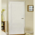 White Finished Brooklyn Two Panel Doors