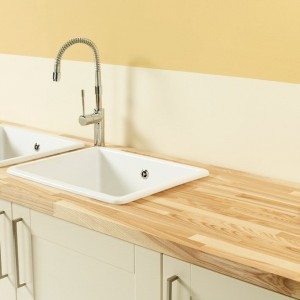 40mm Ash Timber Worktop Surfaces