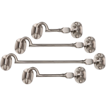 Satin Nickel Cabin Hooks