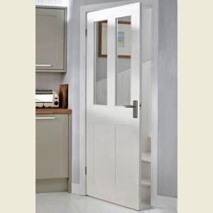 Burford Four Panel Glazed Moulded Doors