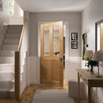 Bury Two Light Four Panel Glazed Oak Doors