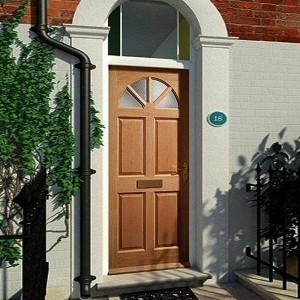 External Carolina Doors