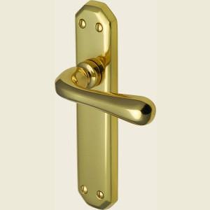 Charlbury Polished Brass Door Handles