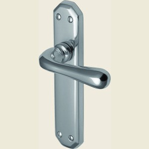 Charlbury Polished Chrome Door Handles