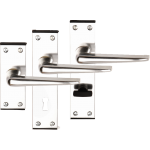 Crofton Polished Aluminium Door Handles