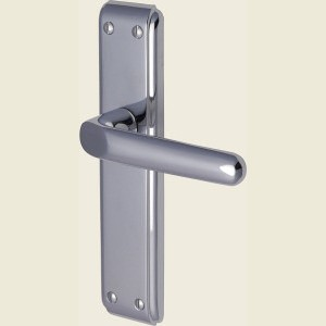 Deco Heritage Brass Polished Chrome Handles