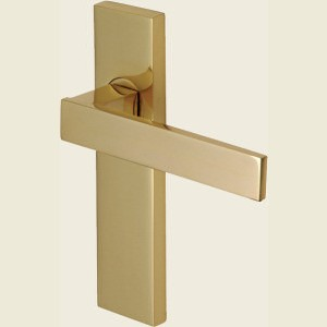 Delta Heritage Brass Polished Brass Handles