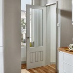 Glazed Dordogne Primed Doors