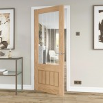 Dordogne Oak Glazed Doors