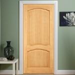Elegance Louis White Oak Doors