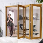 Exterior Oak Folding Patio Door Sets