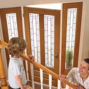 External Oak Glazed Doors
