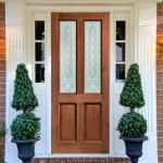 External Malton Hardwood Doors Burns Glass