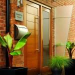 Exterior MT Modena Oak Doors