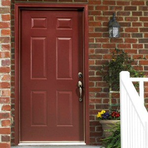 External Six Panel Hardwood Doors
