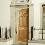 External Six Panel Oak Doors