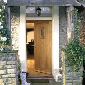 Cottage Style Oak Glazed Doors