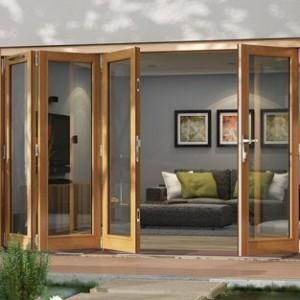 External Folding Doors