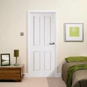 Internal Hardwood Four Panel Doors
