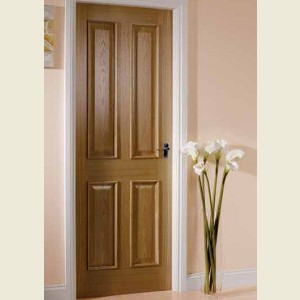Four Panel Oak Bolection Doors