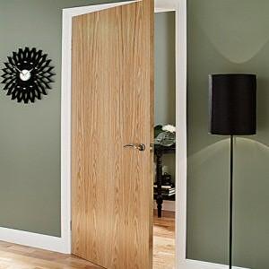 Oak Veneered Flush Doors