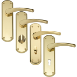 Garda Brass Door Handles