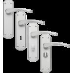 Garda Satin Nickel Door Handles