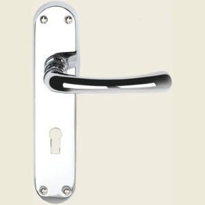Genoa Polished Chrome Door Handles