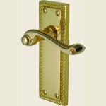 Georgian Polished Brass Handles