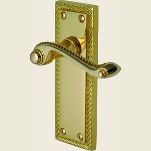 Georgian Polished Brass Handles