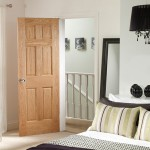 Georgian Six Panel Oak Doors
