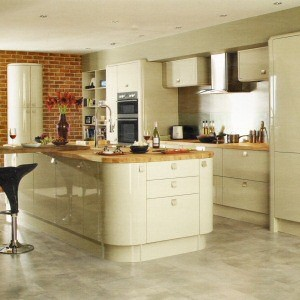 Glendevon Flint Grey Kitchen From Howdens Joinery The