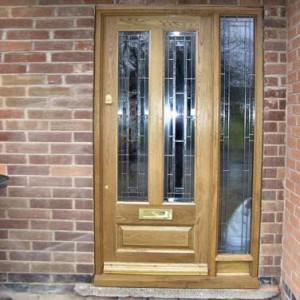 Granada Glazed Oak Doors