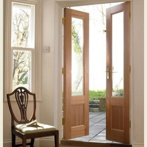 Cottage Hardwood French Doors