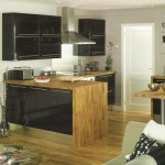 High Gloss Black Kitchen