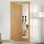 Europa Ibiza Two Panel Oak Doors