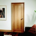 Innova White Oak Veneer One Panel Doors