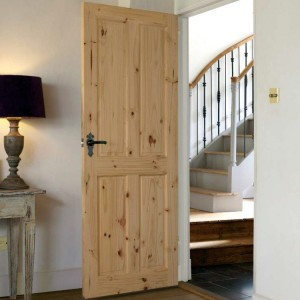 Four Panel Knotty Pine Doors