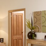 Internal Four Panel Oak Doors