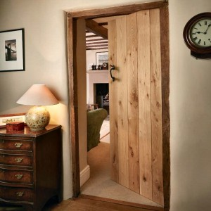 Solid rustic oak doors in cardiff vale of glamorgan internal ledged solid oak cottage doors planetlyrics Images