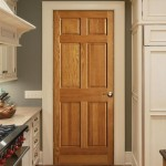 Internal Six Panel Oak doors