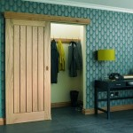 Internal Vertical Five Panel Oak Doors