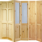 Solid Knotty Pine Or Glazed Bi Fold Doors