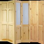 Chiswick Solid Knotty Pine Or Glazed Bi Fold Doors