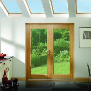 Pattern 20 Pre Finished Oak French Door Sets