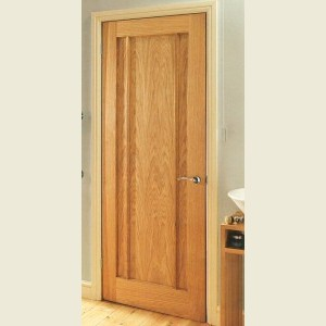 Langdale Oak Three Panel Doors