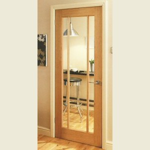 Langdale Oak Three Light Glazed Doors