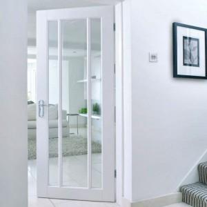 Lincoln Glazed Doors White Primed