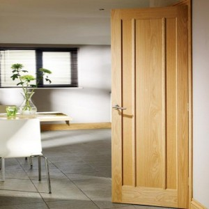 Lincoln Oak Three Panel Doors